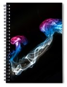 Smoked Jellyfish Spiral Notebook