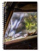 Smokey Broken Windshield Lower Left Spiral Notebook
