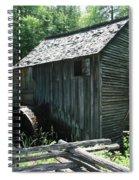 Smoky Mountain Grist Mill Spiral Notebook