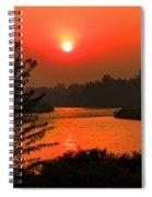 Smokey Sunrise Spiral Notebook