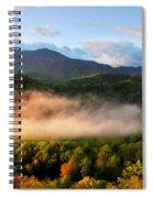 Smokies At Sunrise Spiral Notebook
