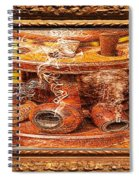 Smokin Pipes Spiral Notebook