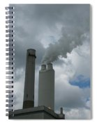Smoking Stack Spiral Notebook