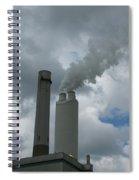 Smoking Stack Spiral Notebook