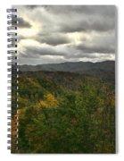 Smoky Mountain Autumn View Spiral Notebook