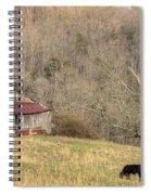 Smoky Mountain Barn 10 Spiral Notebook
