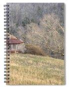 Smoky Mountain Barn 4 Spiral Notebook