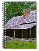 Smoky Mountain Cabins Spiral Notebook