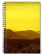 Smoky Mountain Glow Spiral Notebook