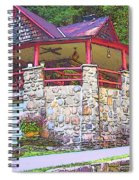 Old Log Cabin - Smoky Mountain Home Spiral Notebook