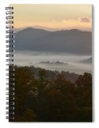 Smoky Mountain Morning Spiral Notebook