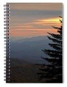 Smoky Mountain Sentinel  Spiral Notebook