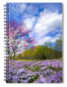 Smoky Mountain Spring Spiral Notebook