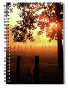 Smoky Mountain Sunrise Spiral Notebook