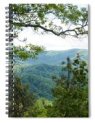 Smoky Mountain View Laurel Falls Trail Spiral Notebook