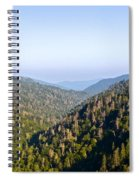 Smoky Mountain View Spiral Notebook
