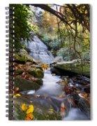 Smoky Mountain Waterfall Spiral Notebook