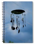 Smoky Mountain Windchime Spiral Notebook