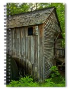 Smoky Mountains Grist Mill Spiral Notebook