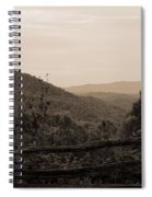 Smoky Mountains Lookout Point Spiral Notebook