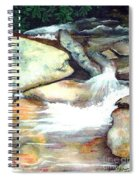 Smoky Mountains Waterfall Spiral Notebook