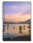 Smoky Sunset Spiral Notebook