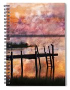 Smoldering Sunrise Spiral Notebook
