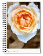 Smooth Angel Rose Spiral Notebook