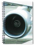Smooth Lines Spiral Notebook