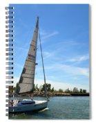 Smooth Sailing Spiral Notebook