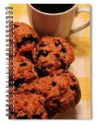 Snack Time - Muffins And Coffee Spiral Notebook