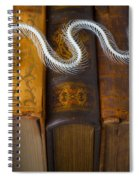 Snake And Antique Books Spiral Notebook