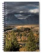 Snake River Storm Spiral Notebook