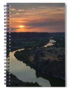 Snake River Sunset Spiral Notebook