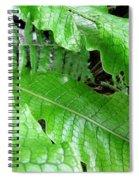 Snake Skin Plant Spiral Notebook