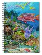 Snapper Reef Re0028 Spiral Notebook