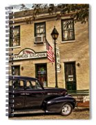 Snappers Saloon Ripley Ohio Spiral Notebook