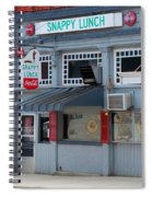 Snappy Lunch Mt. Airy Nc Spiral Notebook