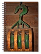 Snatch Block Spiral Notebook
