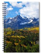 The Sneffles Range Spiral Notebook