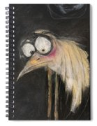 Snipe In The Moonlight Spiral Notebook