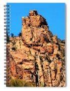 Snoopy Rock - Sabino Canyon Tucson Arizona  Spiral Notebook