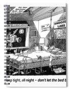 Snoozer Sleep Lab Study Spiral Notebook
