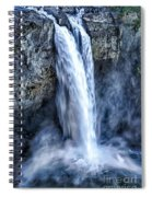 Snoqualmie Falls Spiral Notebook