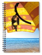 Snorkeling Glasses Spiral Notebook