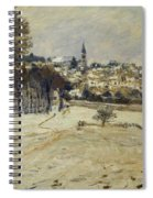 Snow At Marly-le-roi Spiral Notebook