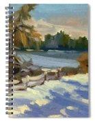 Snow At Martha Lake Spiral Notebook