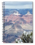 Snow At The Grand Canyon Spiral Notebook