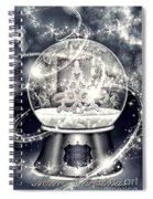 Snow Ball Spiral Notebook