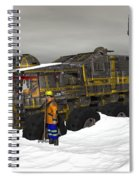 Snow Bound Spiral Notebook